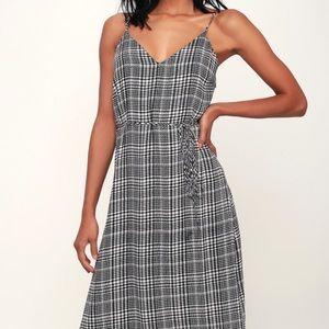 Lulus Houndstooth Dress